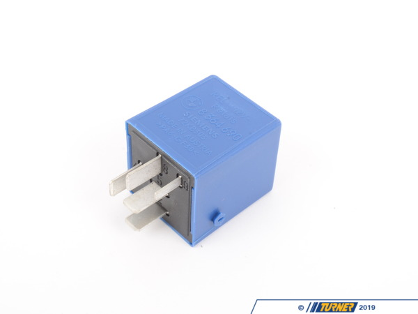 T#11920 - 61358364690 - Comfort Relay - Blue - 5 Prong - E36, E38, Z3 - Genuine BMW - BMW