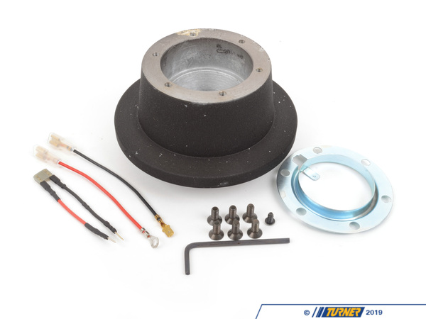 T#1179 - 2011 - MOMO Steering Wheel Hub Adapter for E36, Z3 - This hub adapter allows installation of a MOMO steering wheel (or any steering wheel that uses the same 6 bolt pattern / specs of a MOMO) to an E36 3 series and Z3. Includes everything pictured -- hub, slip ring, and hardware.This hub is best suited to a track-only car.  It does not have the brass contact ring for the horn or a turn signal cancellation feature (in some cars these are not needed - the horn and turn signals are wired into the column).  It does not have crushable hub.  This item fits the following BMWs:1992-1998  E36 BMW 318i 318is 318ti 318ic 323is 323ic 325i 325is 325ic 328i 328is 328ic M31997-2002  Z3 BMW Z3 1.9 Z3 2.3 Z3 2.5i Z3 2.8 Z3 3.0i M Roadster M Coupe - MOMO - BMW