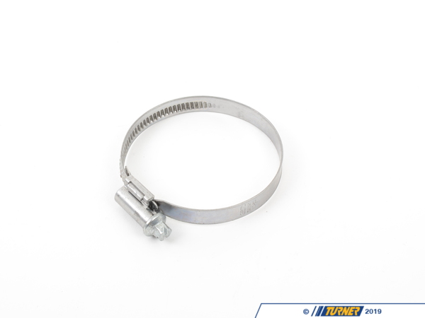 T#5227 - 040-60T - Hose Clamp - 40mm-60mm  - Hose clamps for radiator hoses, coolant hoses, vacuum hoses, or intake hoses. These hose clamps are the same style as your OEM hoses with a smooth inside band to prevent cutting into the hose material. Features:9mm band width6mm hex & slotted headSmooth inside of band = optimal hose protectionOEM 430 Stainless steel band and housing with zinc plated steel screwAsymmetric housing = even distribution of forces and prevents tilting of the clamp when tighteningScrew support = ease of assembly due to the safe guidance of the emerging bandShort housing saddle = even contact pressure = improved efficiency - Bremmen Parts - BMW