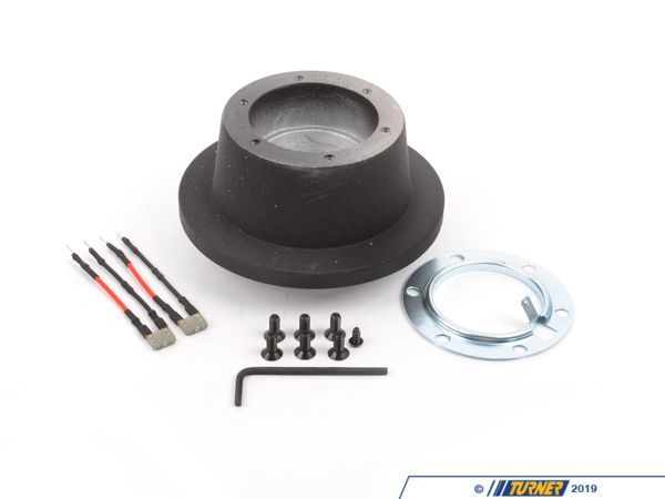 T#4384 - 2013 - MOMO Steering Wheel Hub Adapter for E82, E9X - This hub adapter allows installation of a MOMO steering wheel (or any steering wheel that uses the same 6 bolt pattern / specs of a MOMO, including most Sparco wheels) to an E82 1-series and E90/E92 3 series. Includes everything pictured -- hub, slip ring, and hardware. This item fits the following BMWs:2008-2012  E82 BMW 128i 135i 1M Coupe2006-2011  E90 BMW 325i 325xi 328i 328xi 328i xDrive 330i 330xi 335i 335xi 335i xDrive M32007-2012  E92 BMW 328i 328xi 328i xDrive 335i 335is 335xi 335i xDrive M32007-2012  E93 BMW 328i 335i M3 - MOMO - BMW