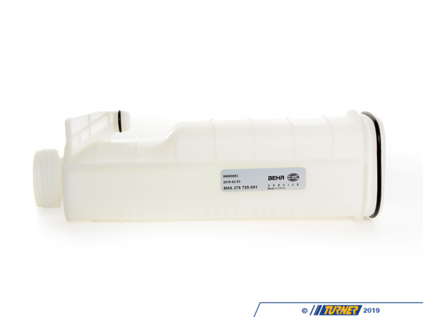 T#6106 - 17111712835 - OEM Hella/Behr Coolant Expansion Tank - E30 E36 318i/is (M42/M44), E34 525i (M20/M50) - Hella - BMW