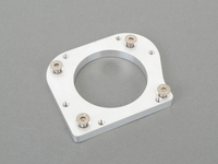 Adapter Plate to Mount M50/S50B30 US Throttle Body or M52TU Dive-By-Wire Throttle Body to M54B30 Intake Manifold