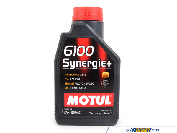 T#2940 - MOSY-10W40-1L - MOTUL 4100 10W-40 Engine Oil - 1 liter bottle - Motul - BMW MINI