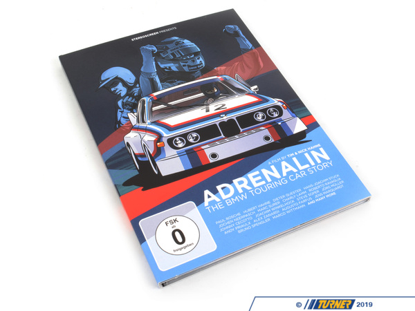 Stereoscreen Adrenalin - The BMW Touring Car Story DVD - NTSC BMW-DVD