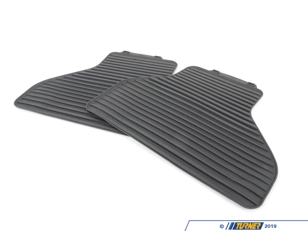 T#110437 - 51472231955 - Genuine BMW Floor Mats, All-Weather, Rear Anthr. - 51472231955 - E70 - Genuine BMW -