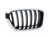 T#213511 - 51117338572 - Genuine BMW Front Right Gille - Chrome and Gloss Black - F25 04/2014+ - Genuine BMW - BMW