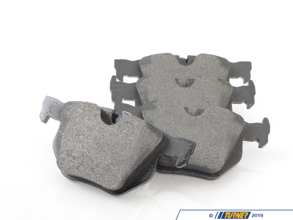 T#12290 - 34216791938 - OEM Rear Brake Pads - E9X 330i/xi, 335i/xi - Pagid - BMW