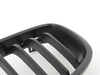 T#180910 - BM-0179-MB - Matte Black Center Grills - F30 320i 328i 335i  - Turner Motorsport - BMW