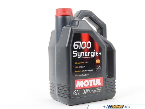 T#2941 - MOSY-10W40-5L - MOTUL 4100 10W-40 Engine Oil - 5 liter bottle - Motul - BMW MINI