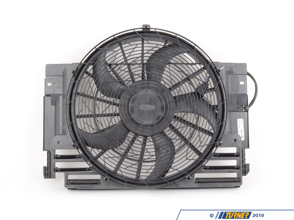 T#4555 - 64546921381 - Electric Auxiliary Fan - E53 X5  - Hella - BMW