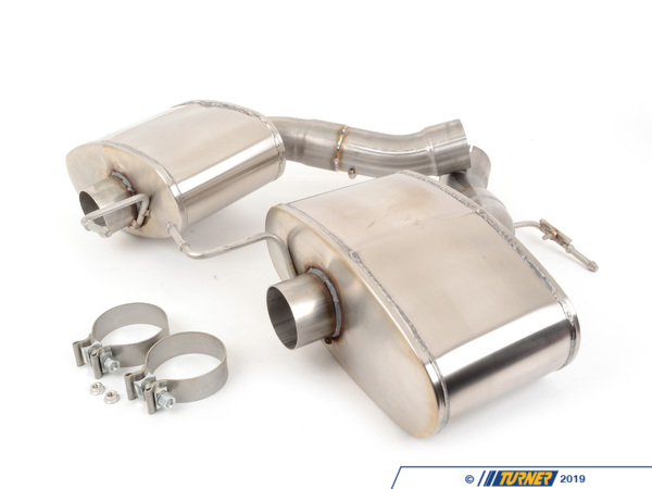 T#303808 - TENF1047CM5 - TURNER/CORSA F10 M5 SPORT AXLE-BACK EXHAUST (TIPS SOLD SEPARATELY) - Turner Motorsport -