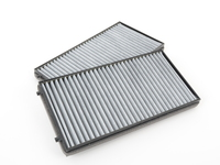 OEM Mann Cabin Air Filter - Activated Charcoal (Pair) - E65