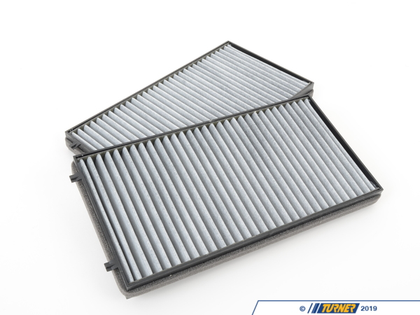 T#4574 - 64116921019 - OEM Mann Cabin Air Filter - Activated Charcoal (Pair) - E65 - Mann - BMW