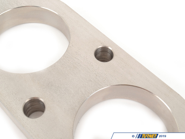 T#174117 - TEN3049FLA - E30 M3 Exhaust Center Section to Header Flange - Turner Motorsport -