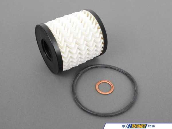 T#1698 - 11427512446 - OEM Mahle Oil Filter Kit for Mini Cooper, Cooper S (R50, R53) - Mahle - MINI