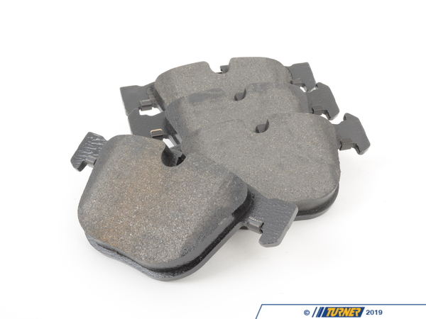 T#15889 - 34212284296 - OEM Rear Brake Pads - E60, E63, E65, E70, E71, E9x M3 - These are the rear brake pads for the E60 M5, E63 M6, and E90 E92 E92 M3 models. BMW used several different suppliers for their brake pads and we buy direct from their distributors to get you the same pad as originally equipped but at a fraction of the cost of the local BMW dealer. . These are the same pads as what originally came on your car but without the expensive BMW logo.   Replaces BMW part #34216768471.Price is for one set - enough to replace the pads on both rear calipers.These rear pads fit the following BMWs:2006-2011  E90 BMW M3 - Sedan2007-2013  E92 BMW M3 - Coupe2007-2013  E93 BMW M3 - Convertible2004-2010  E60 BMW 545i 550i M52004-2011  E63 E64 BMW 645ci 650iM62002-2008  E65 BMW 745i 745li 750i 750li 760i 760li2007-2013  E70 BMW X5 4.8i X5 xDrive48i2008-10/2008  E71 BMW X6 xDrive35i 2008+  E71 BMW X6 xDrive50i  - Pagid -