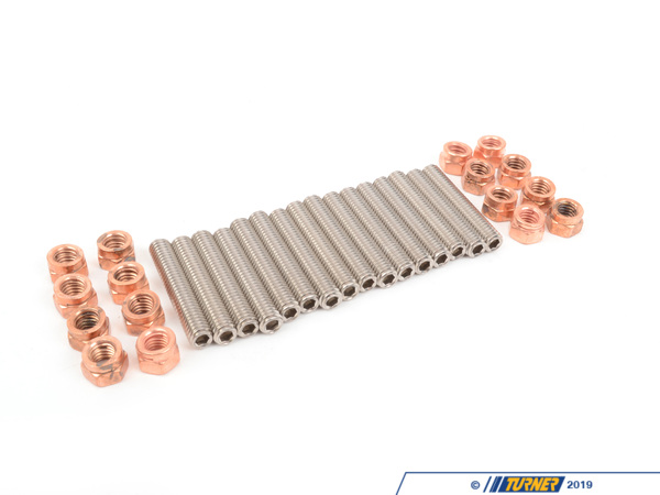 T#393263 - ten3090110KT - E30 M3 S14 Exhaust Manifold Stud & Nut Kit - Turner Motorsport - BMW