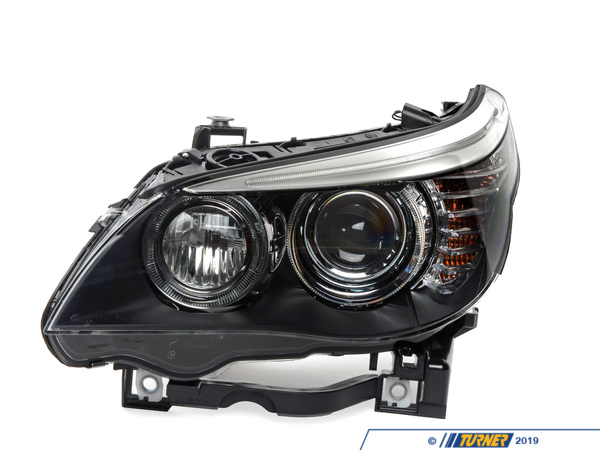 T#18960 - 63127045695 - OEM Hella Bi-xenon Headlight - Left - E60 3/2007+  - Hella - BMW