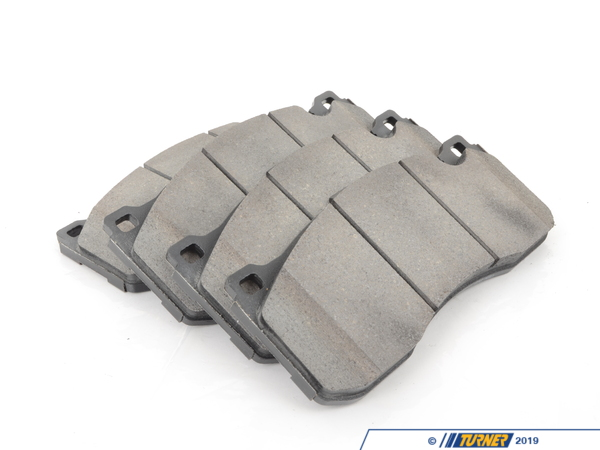 T#12167 - TMS12167 - StopTech Street Performance Brake Pads - Front - E82 135i, E9X BMW Performance Brakes - StopTech - BMW