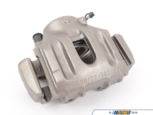 T#5727 - 34111160367R - Brake Caliper - Rebuilt - Front Left - E34 525i, 530i, 535i - Our rebuilt calipers start off with an original BMW caliper that is fully disassembled thoroughly inspected and carefully processed. All threads are chased, all groves are meticulously cleaned and checked. Pistons are replaced if any dents or scratches are found. All rubber components and hardware are replaced with new OE quality parts. The units are then air pressure tested and submitted to a thorough final inspection.Includes $25.00 refundable core charge.This item fits the following BMWs:1989-1995E34 BMW525i 530i 535i - Centric - BMW