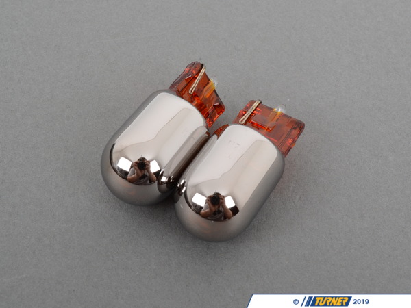 T#1843 - TMS1843 - Stealth Bulb Set - Front Turn Signals / Parking Lights - E46 325ci 330ci 04-06 - E63 all - Stealth Bulb Set - Single Filament Front for  BMW E46 Coupe 04-06 and E63 04-10.  These are the are the best concealment bulbs on the market; invisible in clear lenses when off and bright amber when on. No more ugly orange egg yolk look in your clear corners.  Check your stock bulb and compare to photo before ordering.This item fits the following BMWs:2004-2005  E46 BMW 325ci 330ci2004+  E63 BMW 645ci 650i M6 - Turner Motorsport - BMW