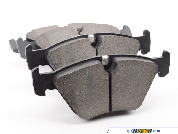 T#25735 - TMS25735 - StopTech Street Performance Brake Pads - Front - E46 330i/Ci/Xi, E46 M3 03-06, E83 X3 2.5i/3.0i/3.0si, E85 Z4 3.0si, E85 Z4 M - StopTech - BMW