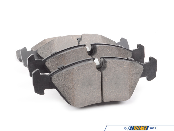 T#12160 - TMS12160 - StopTech Street Performance Brake Pads - Front - E24/E28, E30 M3 - StopTech Street Performance front brake pads are designed for high-performance street drivers who want a high-quality and capable pad that won't break the wallet. These pads feature an innovative composite compound that is quiet, great bite and modulation, low fade under hard street-type use (and autocross, light track). We've tried these pads and love how capable they were when used hard but also how easy they were for regular stop-and-go driving. This might be the last brake pad you will ever need!Position: both front calipersThis item fits the following BMWs:1988-1991  E30 BMW M31982-1989  E24 BMW 633csi 635csi1982-1988  E28 BMW 524td 528e 533i 535i 535is - StopTech - BMW