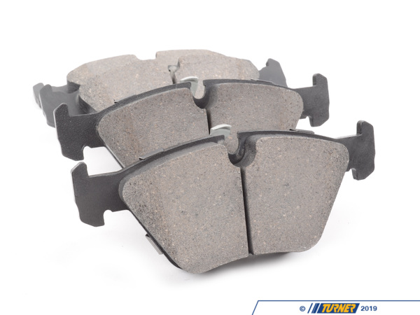T#12163 - TMS12163 - StopTech Street Performance Brake Pads - Front - E39 525i/528i - StopTech Street Performance front brake pads are designed for high-performance street drivers who want a high-quality and capable pad that won't break the wallet. These pads feature an innovative composite compound that is quiet, great bite and modulation, low fade under hard street-type use (and autocross, light track). We've tried these pads and love how capable they were when used hard but also how easy they were for regular stop-and-go driving. This might be the last brake pad you will ever need!Position: both front calipersThis item fits the following BMWs:1999-2003  E39 BMW 525i 528i - StopTech - BMW