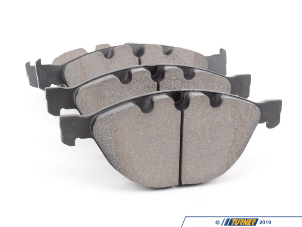 T#12165 - TMS12165 - StopTech Street Performance Brake Pads - Front - E60 M5, E63 M6 - StopTech Street Performance front brake pads are designed for high-performance street drivers who want a high-quality and capable pad that won't break the wallet. These pads feature an innovative composite compound that is quiet, great bite and modulation, low fade under hard street-type use (and autocross, light track). We've tried these pads and love how capable they were when used hard but also how easy they were for regular stop-and-go driving. This might be the last brake pad you will ever need!Position: both front calipersThis item fits the following BMWs:2006-2010  E60 BMW M52004-2011  E63 E64 BMW M6 - StopTech - BMW