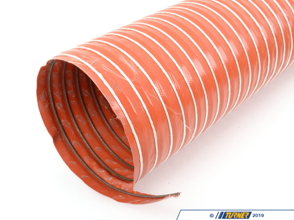 T#1381 - TBR9962303 - Brake Duct Hose Kit - 3 inch with clamps - Turner Motorsport - BMW