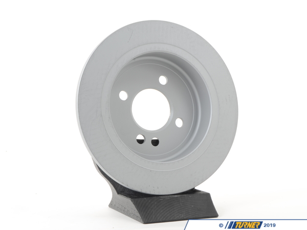 T#2537 - 34211503070 - Rear Brake Rotors - R50 R53 MINI Cooper & Cooper S 2002-2006 - Zimmermann -