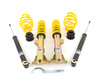 "T#210929 - 90211 - ST Suspension Coilover Kit - E36 318i 323i 325i 328i - ST Suspensions - German-Engineered Coil Overs at an Affordable Price.ST Suspensions has partnered with KW Suspensions in Germany to offer an affordable German-engineered coilover kit. The ST coil overs are based on the entry-level KW Variant 1 but with zinc-plated shock bodies in place of the more expensive stainless steel. Each ST coilover has dampers perfectly tuned for the springs included with the kit. It's a matched shock and spring package with the added feature of adjustable ride height. This delivers a comfortable but sporty and controlled ride without being jarring or uncomfortable. The engineering and performance is unbeatable at this price! The ST coilover kit is packed with features found on more expensive fully-adjustable coil overs -Pre-set fixed damping optimized for a blend of ride comfort and handling with less bodyrollZinc-plated steel strut/shock bodiesComposite-coated spring perches reduce noise and vibrationIndividually height-adjustableTUV approved lowering range and operationExpert engineering and design for ease-of-use and long durabilityThis is the ideal coil over kit for an enthusiast owner who does not plan on tracking or autocrossing the car and just wants a lower, more aggressive stance and better handling. ST has set the shock damping rates to be an excellent balance for a smooth yet taut ride, and to resist bodyroll motions for better handling. If you want a sportier ride and better handling than stock ST Coil Overs are an excellent choice.LoweringFront:      1.6"" to 3.1""Rear:      0.8"" to 2.0""This item fits the following BMWs:1992-1998  E36 BMW 318i 318is 318ic 323is 323ic 325i 325is 325ic 328i 328is 328ic M3 - Suspension Techniques - BMW"