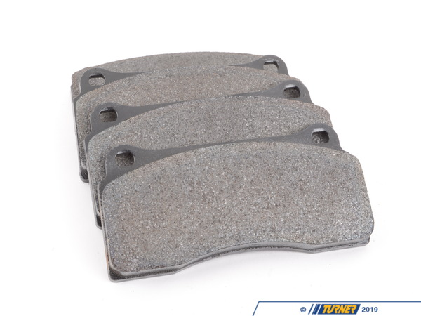 Centric Brembo Calipers F40, F50, B, H, GT1 - Street Brake Pad Set - StopTech Posi-Quiet Extended Wear TMS16481