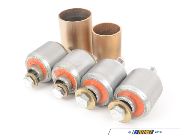 T#1544 - 193526 - KMAC Street Rear Adjustable Camber/Toe Bushings - E38, E39 (except M5) - KMAC - BMW