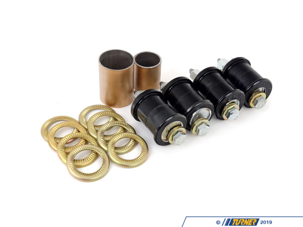 T#3546 - 193326 - KMAC Street Rear Adjustable Camber/Toe Bushings - E23, E24 83-89, E28 82-88, E32, E34 - KMAC - BMW