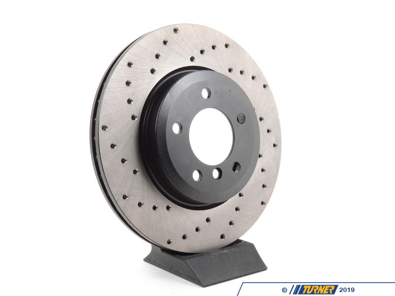 T#300253 - 128.34052R 071 - E46 330, Z4 3.0si Front Right Centric Cross-Drilled Rotor - Centric -