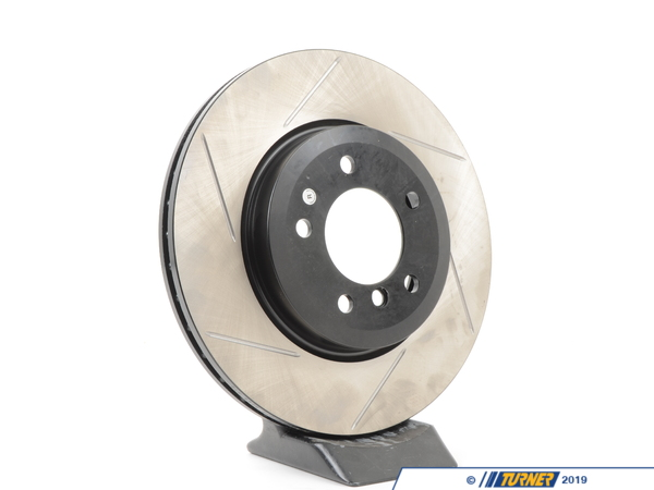 T#300133 - 126.34052SR 071 - E46 330, Z4 3.0si Front Right Centric Gas-Slotted Rotor - Centric -