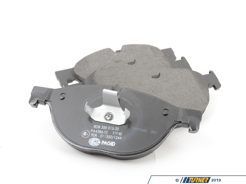 34116851269 Oem Pagid Front Brake Pads Euro Compound