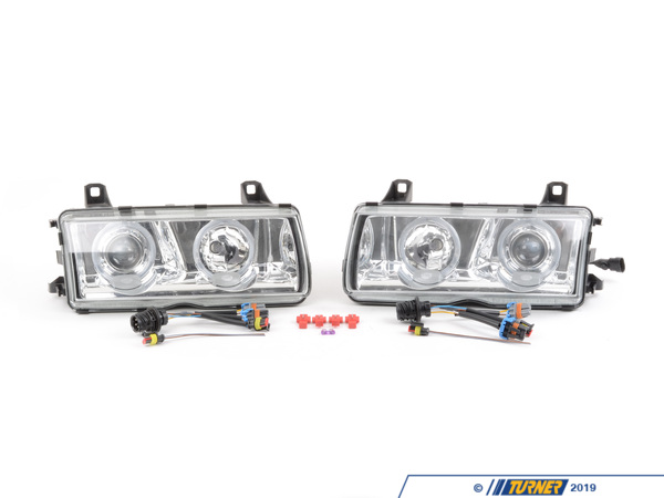 T#4 - 1AL008875-801 - Hella Euro Angel Eye Headlight Kit - E36 - (NO LONGER AVAILABLE) - Hella -
