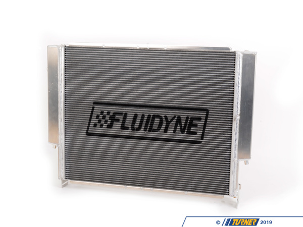 "T#1810 - FHP13-92E36 - E36 Fluidyne/Turner 44mm Aluminum Radiator Upgrade - RE-DESIGNED AND RE-ENGINEERED!!We have collaborated with FLUIDYNE on improving their already excellent aluminum radiator for the E36. The features that made FLUIDYNE a leader in the E36 radiator market continue but with some new elements requested by the Turner Motorsport R&D staff. We have made the radiator easier to fit with the stock fan shroud and hanger mounts. The shroud will be better secured to the radiator than before which saves time and hassle. Our goal was to make this as close to a ""drop-in"" replacement as possible. We also had new hangers installed on the bottom to accommodate the factory E36 Euro oil cooler and our oil cooler hangers. A zinc anode drain plug absorbs static electricity from the coolant which helps prolong the life of temp sensors. There has never been a better E36 radiator upgrade than this! For an E36 track or modded street car there should be no reason to ever go back to a stock plastic radiator or compromise on a cheap aluminum radiator. The latest FLUIDYNE is the best there is.The stock radiator has an aluminum core but with plastic end-tanks and hose connections that become brittle and can leak or crack. You may not even realize your radiator neck is cracked until it's too late and you're stranded on the side of the freeway or unable to continue with your track day. An all-aluminum design does not suffer the defects of similar plastic construction. FLUIDYNE quality is what sets them apart from every other manufacturer. Their radiators feature a high-tech CAB-brazed core construction instead of epoxy (which can leak). All tanks and brackets are TIG welded by hand in the USA. If you plan on owning your BMW for many years to come, or are using it in a situation where failure is NOT an option such as track or racing, then this should be your only option instead of the failure-prone stock radiators.This radiator fits the following BMWs:1995-1999 E36 M3 including coupe, sedan & convertible1992-1995 E36 325i & 325is sedan/coupe/convt1996-1998 E36 328i, 328is & 323is coupe/sedan/convt1999-1999 E36 328is & 323is - Turner Motorsport - BMW"