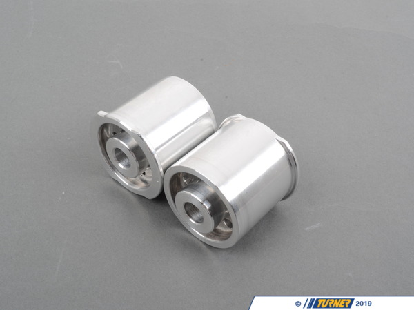 T#2955 - TDR9080321 - Rear Differential Mounts - Turner Race Solid Delrin/Aluminum - E9X M3 - Turner Motorsport - BMW