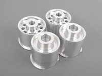 Rear Subframe Bushings/Mount Set - Turner Solid Aluminum - E82, E9X