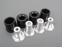 Rear Subframe Bushings/Mount Set - Turner Solid Delrin/Aluminum - E82, E9X