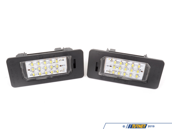 Turner Motorsport LED License Plate Light - (pair) - E82 E90 E92 E39 E60 E70 E71 BMWLEDLICENSE