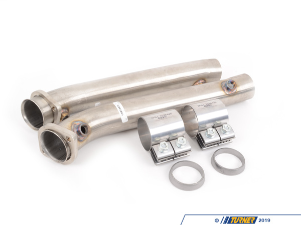 T#1379 - TEN9046MTP - E9X M3 Turner Motorsport Test Pipes (Cat Delete) - Turner Motorsport -