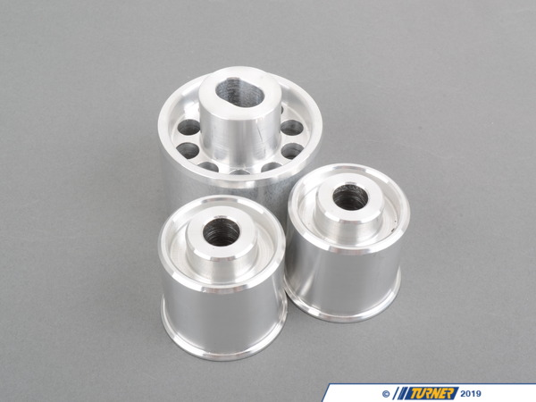 T#1078 - TDR4680455 - Rear Differential Mounts - Turner Solid Aluminum - E46/SE46, X3, Z4 - Turner Motorsport -