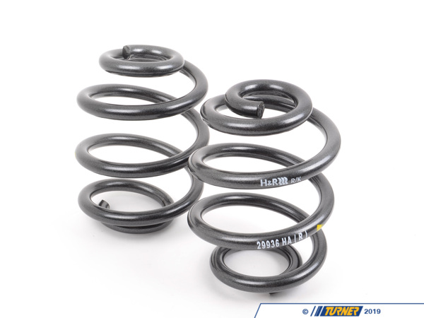 T#105 - 29910-2AR - H&R Adjustable Sport Spring Set - E36 M3 96-99 - Turner Motorsport - BMW