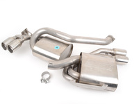 E46 M3 Borla Sport Exhaust - Rear Mufflers with Round Tips
