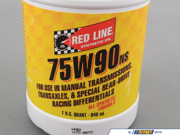 T#4065 - TMS4065 - Red Line 75W-90 No Slip Differential Gear Oil - Redline -