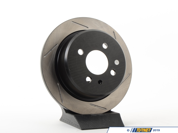 T#300112 - 126.34019SL 581 - E30 318/325 LEFT REAR SLOTTED ROTOR  - Centric -